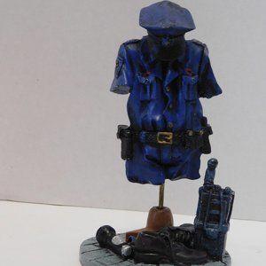 Police Officer Uniform Figurine